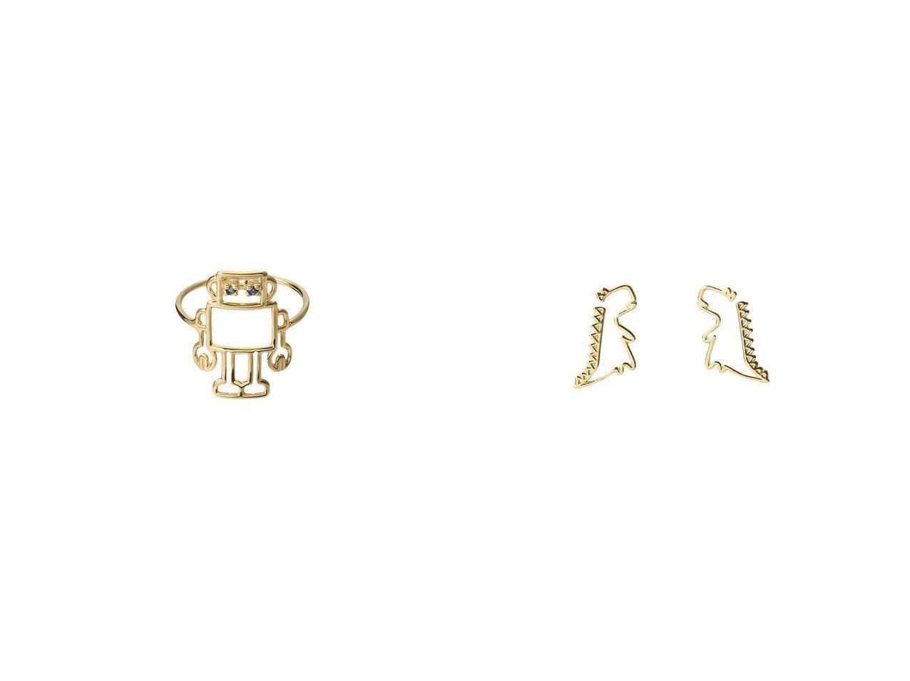 【ALIITA/アリータ】のROBOT リング&DINO PURO ピアス おすすめ!人気トレンド・レディースファッションの通販  おすすめで人気のファッション通販商品 インテリア・家具・キッズファッション・メンズファッション・レディースファッション・服の通販 founy(ファニー) https://founy.com/ ファッション Fashion レディース WOMEN |ID:crp329100000006435