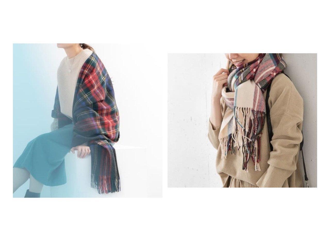 【Sonny Label / URBAN RESEARCH/サニーレーベル】のGlen Prince ラムズウールチェックストール おすすめ!人気トレンド・レディースファッションの通販 おすすめで人気のファッション通販商品 インテリア・家具・キッズファッション・メンズファッション・レディースファッション・服の通販 founy(ファニー) https://founy.com/ ファッション Fashion レディース WOMEN ストール Scarves マフラー Mufflers スカーフ ストール トレンド マフラー 軽量 |ID:crp329100000006468
