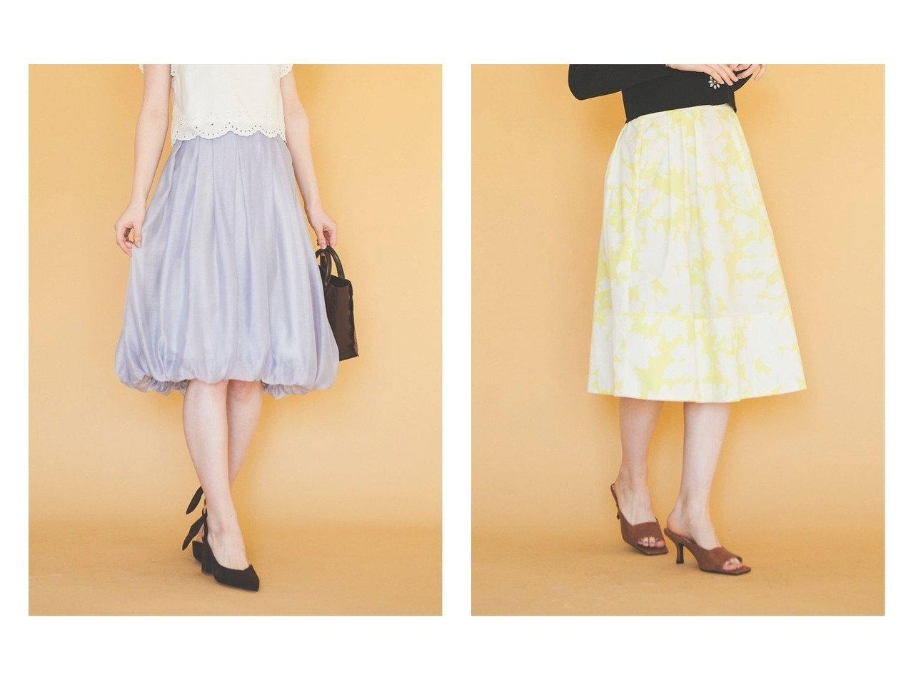 【31 Sons de mode/トランテアン ソン ドゥ モード】のオーガンジーバルーンスカート&フェイククロコ・チェックスクエアサンダル おすすめ!人気トレンド・レディースファッションの通販 おすすめで人気のファッション通販商品 インテリア・家具・キッズファッション・メンズファッション・レディースファッション・服の通販 founy(ファニー) https://founy.com/ ファッション Fashion レディース WOMEN スカート Skirt 台形スカート Trapezoid Skirt エアリー トレンド バルーン フェミニン ヘムライン リボン 台形 ギンガム クロコ サンダル シューズ ネイル |ID:crp329100000006479