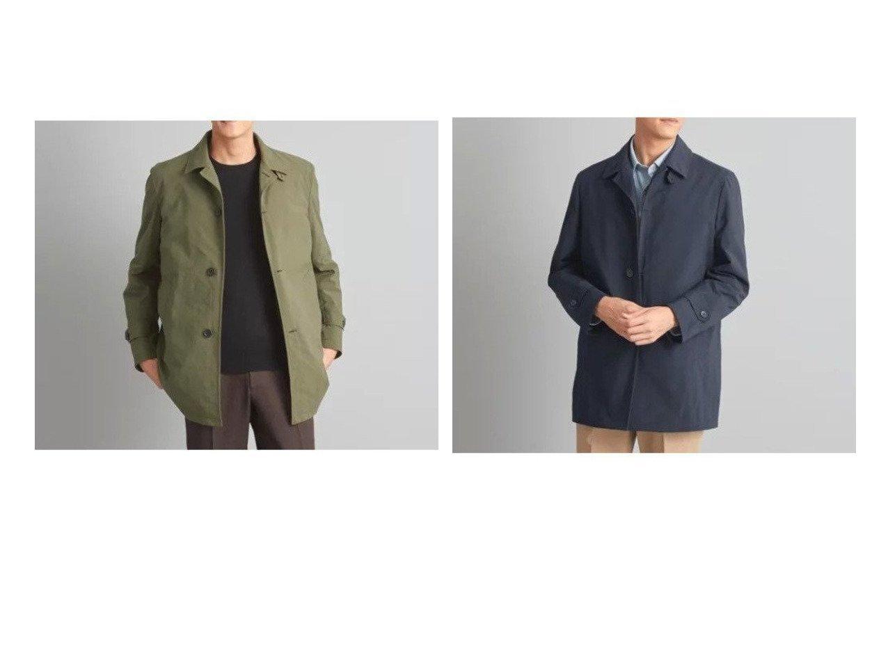 【green label relaxing / UNITED ARROWS / MEN/グリーンレーベルリラクシング メン】のWTO ナイロン ライナー ステンカラー コート 【MEN】男性のおすすめ!人気トレンド・メンズファッションの通販  おすすめで人気のファッション通販商品 インテリア・家具・キッズファッション・メンズファッション・レディースファッション・服の通販 founy(ファニー) https://founy.com/ ファッション Fashion メンズ MEN 春 秋 ジャケット スマート ダウン トレンド メンズ ライナー  ID:crp329100000006547