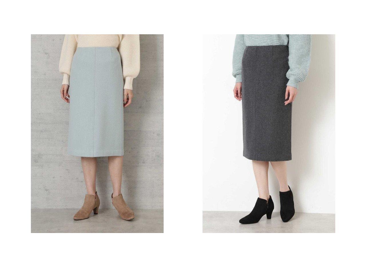 【NATURAL BEAUTY BASIC/ナチュラル ビューティー ベーシック】のウールカルゼミルドスカート スカートのおすすめ!人気トレンド・レディースファッションの通販 おすすめで人気のファッション通販商品 インテリア・家具・キッズファッション・メンズファッション・レディースファッション・服の通販 founy(ファニー) https://founy.com/ ファッション Fashion レディース WOMEN スカート Skirt シンプル ストレート スリット |ID:crp329100000006573