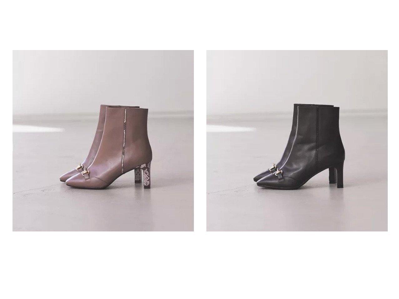 【Piche Abahouse/ピシェ アバハウス】の【スノーソール】ビットスクエアトゥブーツ シューズ・靴のおすすめ!人気トレンド・レディースファッションの通販 おすすめで人気のファッション通販商品 インテリア・家具・キッズファッション・メンズファッション・レディースファッション・服の通販 founy(ファニー) https://founy.com/ ファッション Fashion レディース WOMEN シューズ ミドル |ID:crp329100000006576