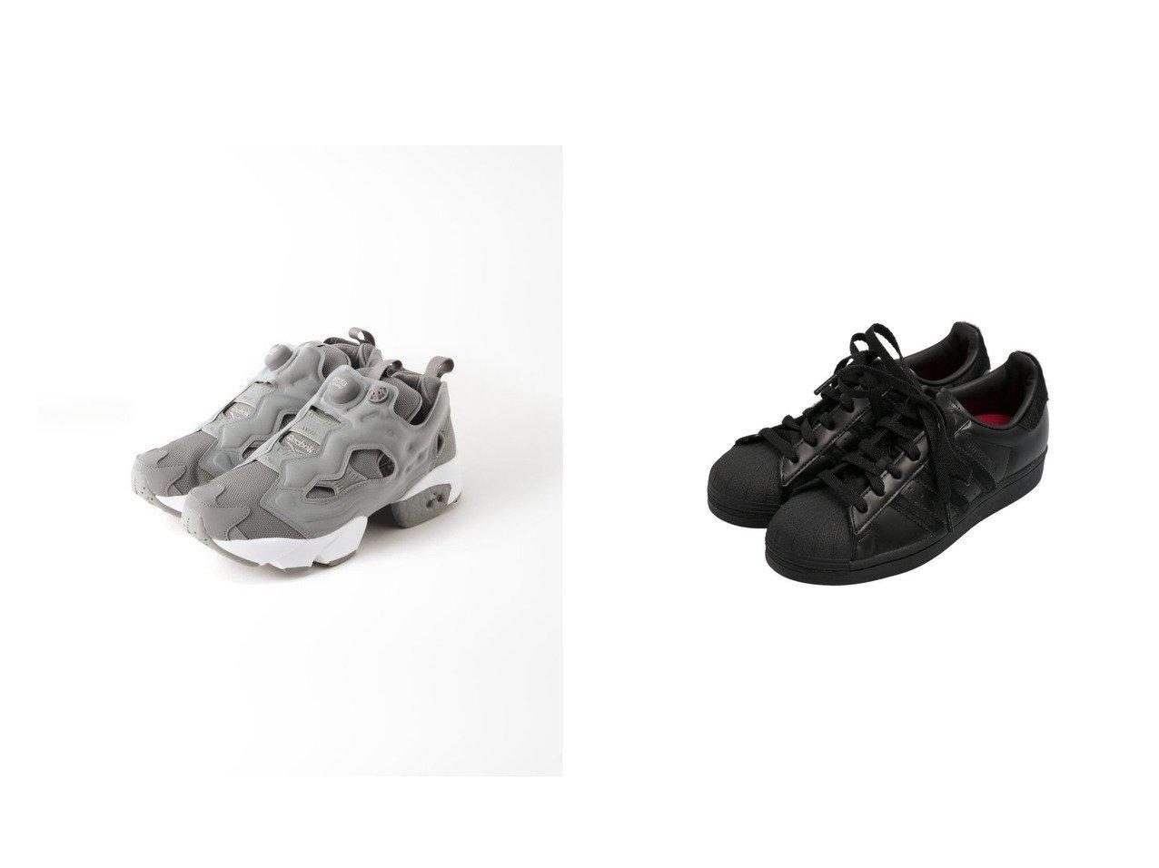 【adidas Originals/アディダス オリジナルス】のスーパースター [SUPERSTAR] アディダスオリジナルス&【Spick & Span/スピック&スパン】の【Reebok】CLASSIC MID PUMP シューズ・靴のおすすめ!人気トレンド・レディースファッションの通販 おすすめで人気のファッション通販商品 インテリア・家具・キッズファッション・メンズファッション・レディースファッション・服の通販 founy(ファニー) https://founy.com/ ファッション Fashion レディース WOMEN エアリー コレクション シューズ スニーカー スポーツ メッシュ A/W 秋冬 Autumn &  Winter スリッポン 今季 |ID:crp329100000006577