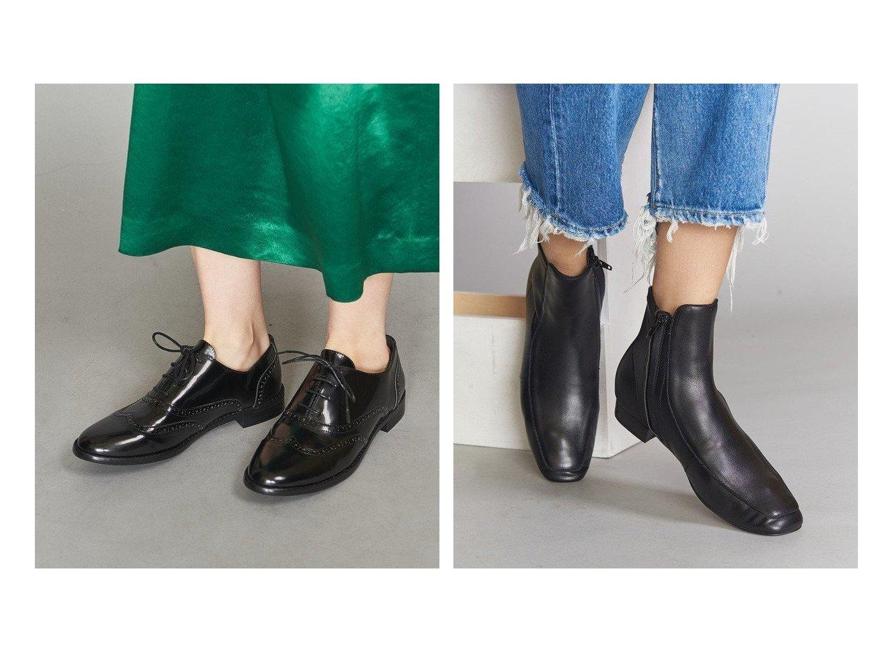 【BEAUTY&YOUTH UNITED ARROWS/ビューティアンド ユースユナイテッドアローズ】のBY メダリオンレースアップシューズ&BY スクエアチップショートブーツ シューズ・靴のおすすめ!人気トレンド・レディースファッションの通販 おすすめで人気のファッション通販商品 インテリア・家具・キッズファッション・メンズファッション・レディースファッション・服の通販 founy(ファニー) https://founy.com/ ファッション Fashion レディース WOMEN ワンピース Dress ドレス Party Dresses シューズ マニッシュ ミックス 人気 定番 ショート スラックス デニム フォルム ベーシック |ID:crp329100000006578