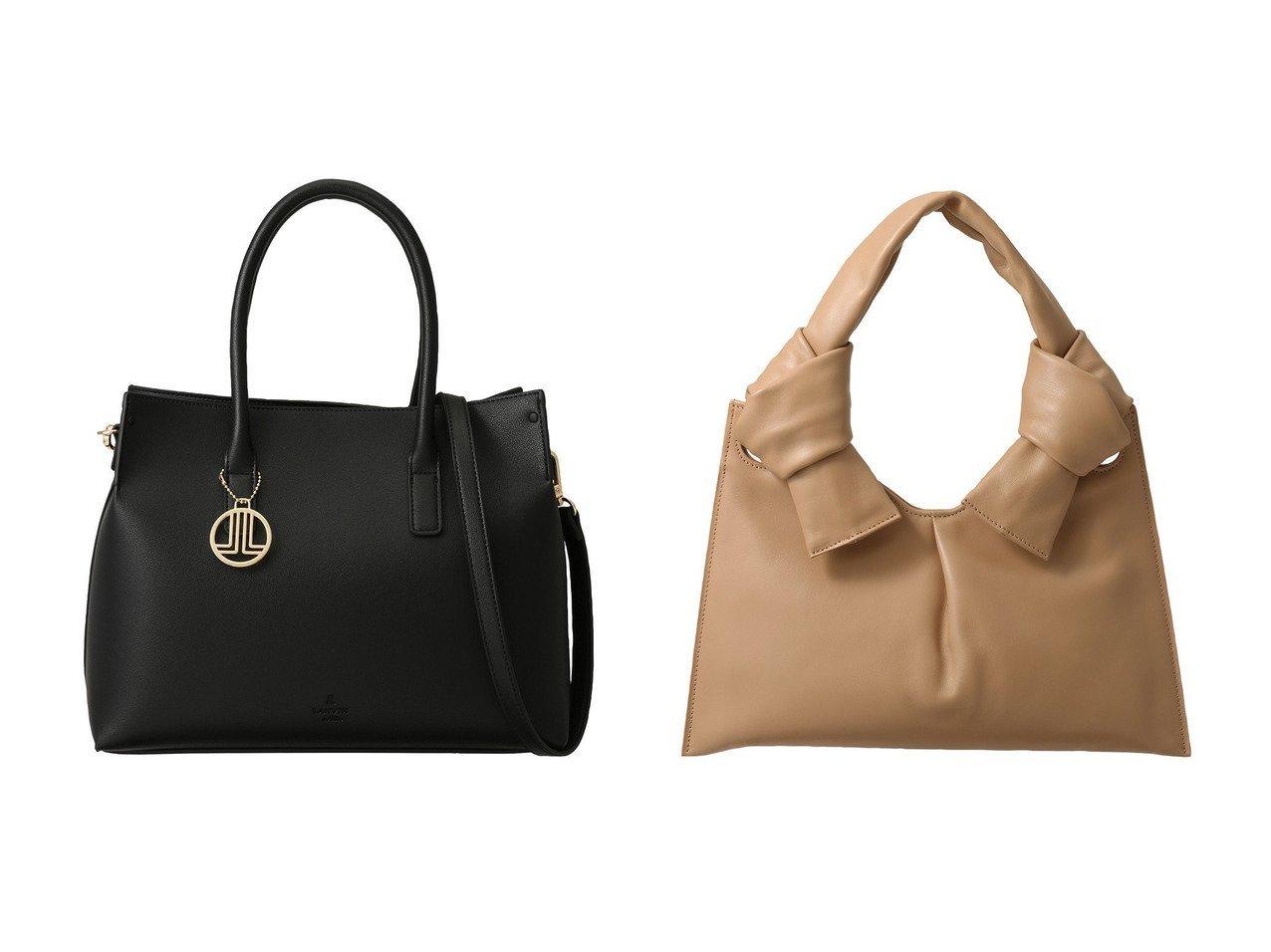 【LANVIN en Bleu/ランバン オン ブルー】のヴィーガンレザートートバッグ&【martinique/マルティニーク】の【LITTLE LIFFNER】KNOT EVENINGバッグ バッグ・鞄のおすすめ!人気トレンド・レディースファッションの通販 おすすめで人気のファッション通販商品 インテリア・家具・キッズファッション・メンズファッション・レディースファッション・服の通販 founy(ファニー) https://founy.com/ ファッション Fashion レディース WOMEN バッグ Bag ショルダー シンプル チャーム モチーフ なめらか ハンドバッグ パーティ |ID:crp329100000006579