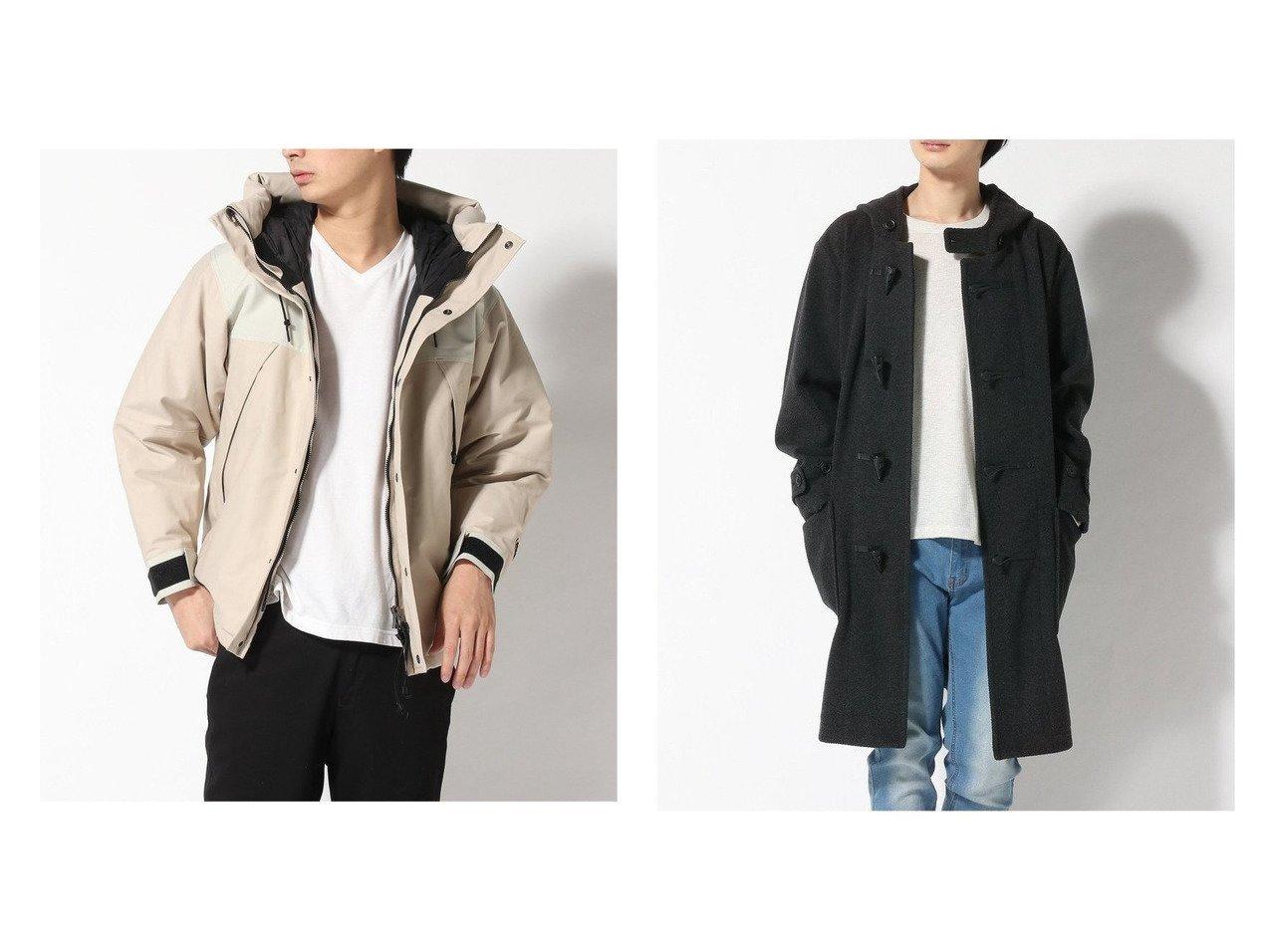 【GLOBAL WORK / MEN/グローバルワーク】のウールダッフルコート&【LASKA PRO / MEN/ラスカ プロ】のマウンテンダウンジャケット 【MEN】男性のおすすめ!人気トレンド・メンズファッションの通販 おすすめで人気のファッション通販商品 インテリア・家具・キッズファッション・メンズファッション・レディースファッション・服の通販 founy(ファニー) https://founy.com/ ファッション Fashion メンズ MEN インナー ジャケット ダウン ドット 防寒 ダッフルコート 定番 |ID:crp329100000006676