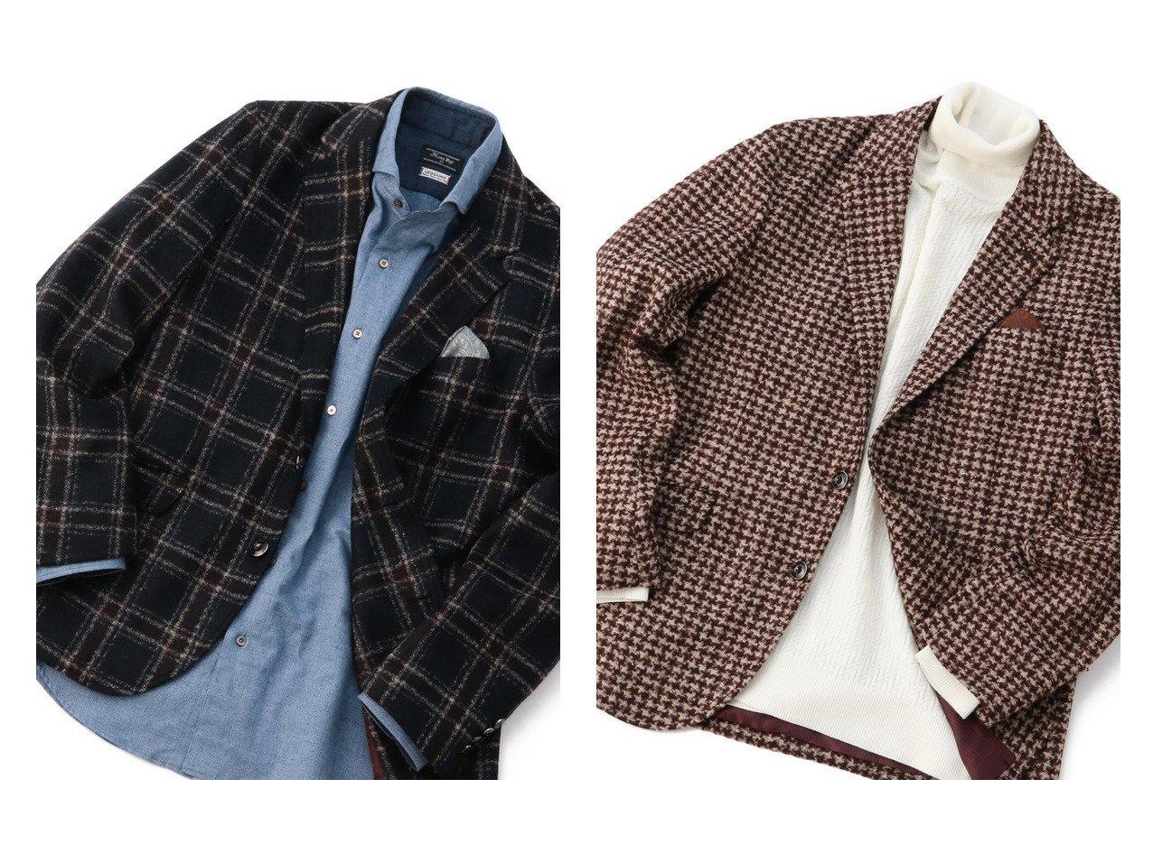 【Men's Bigi / MEN/メンズビギトーキョー】の【LANIFICIO ROMA(ラニフィーチョローマ)】ジャージジャケット 【MEN】男性のおすすめ!人気トレンド・メンズファッションの通販 おすすめで人気のファッション通販商品 インテリア・家具・キッズファッション・メンズファッション・レディースファッション・服の通販 founy(ファニー) https://founy.com/ ファッション Fashion メンズ MEN アクリル イタリア インナー カーディガン コーデュロイ ジャケット ジャージ ストライプ ストレッチ タートルネック チェック デニム フィット ポケット リラックス |ID:crp329100000006683