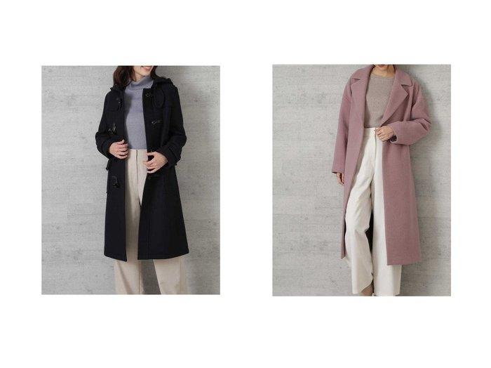 【NATURAL BEAUTY BASIC/ナチュラル ビューティー ベーシック】のダッフルコート&メルトンモッサオーバーチェスターコート アウターのおすすめ!人気トレンド・レディースファッションの通販 おすすめファッション通販アイテム レディースファッション・服の通販 founy(ファニー) ファッション Fashion レディース WOMEN アウター Coat Outerwear コート Coats ダッフルコート Duffle Coats チェスターコート Top Coat ストレート ダッフルコート ベーシック 定番 イタリア チェスターコート 防寒 |ID:crp329100000006798