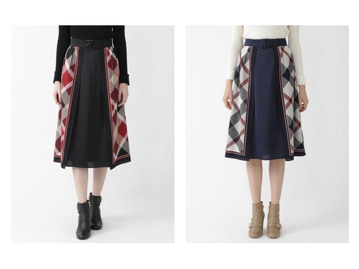 【BLUE LABEL CRESTBRIDGE/ブルーレーベル クレストブリッジ】のクレストブリッジチェックスカーフコンビプリントスカート スカートのおすすめ!人気トレンド・レディースファッションの通販 おすすめファッション通販アイテム レディースファッション・服の通販 founy(ファニー) ファッション Fashion レディース WOMEN スカート Skirt ミニスカート Mini Skirts チェック プリント ミニスカート 冬 Winter |ID:crp329100000006977