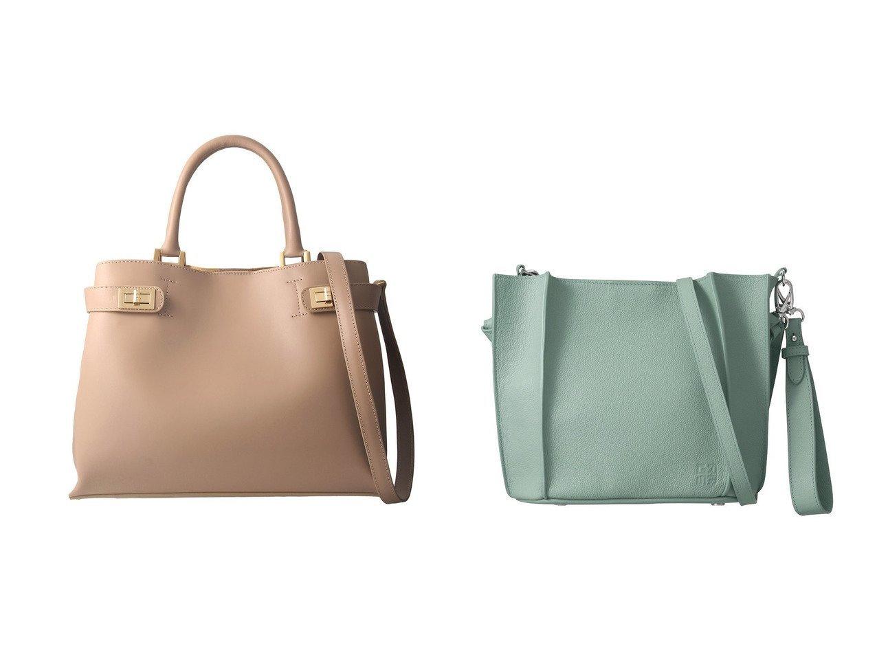 【heliopole/エリオポール】の【GRES】アリシア2 2WAYミニバッグ&【MILOS】ダブルビットバッグ バッグ・鞄のおすすめ!人気トレンド・レディースファッションの通販 おすすめで人気のファッション通販商品 インテリア・家具・キッズファッション・メンズファッション・レディースファッション・服の通販 founy(ファニー) https://founy.com/ ファッション Fashion レディース WOMEN バッグ Bag イタリア ダブル ハンドバッグ クラッチ ショルダー シンプル ジャージー ドレス フォルム ラップ 定番 |ID:crp329100000007002