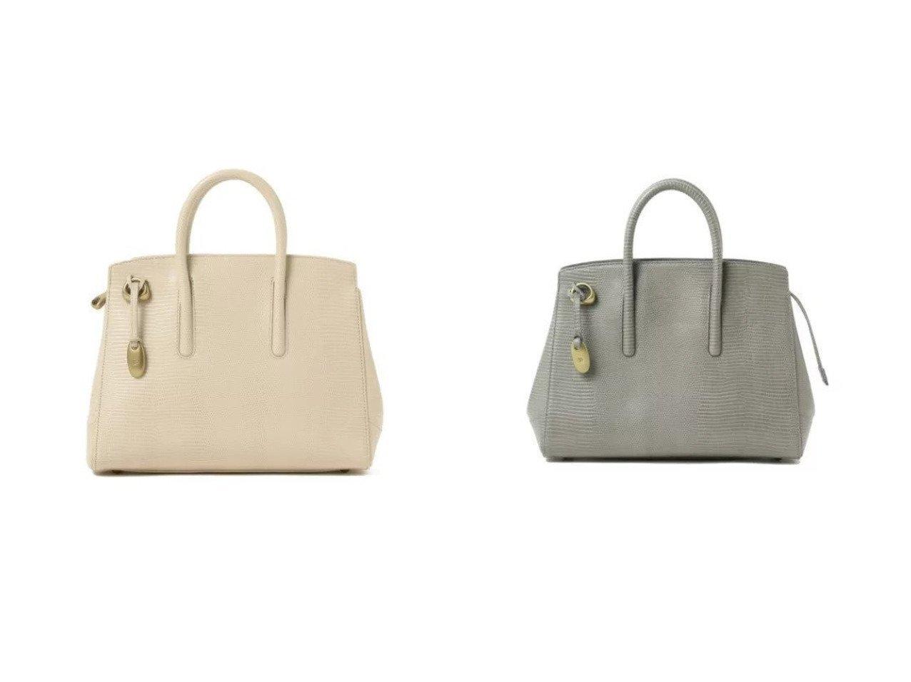 【Demi-Luxe BEAMS/デミルクス ビームス】のTOFF& ジョリーリザード トートバッグ M バッグ・鞄のおすすめ!人気トレンド・レディースファッションの通販 おすすめで人気のファッション通販商品 インテリア・家具・キッズファッション・メンズファッション・レディースファッション・服の通販 founy(ファニー) https://founy.com/ ファッション Fashion レディース WOMEN シンプル フォルム |ID:crp329100000007011