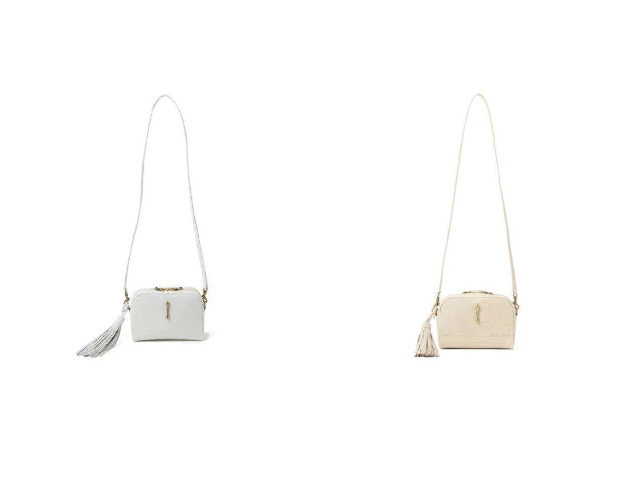 【Demi-Luxe BEAMS/デミルクス ビームス】のTOFF& レヴューリザード ショルダーバッグ バッグ・鞄のおすすめ!人気トレンド・レディースファッションの通販 おすすめで人気のファッション通販商品 インテリア・家具・キッズファッション・メンズファッション・レディースファッション・服の通販 founy(ファニー) https://founy.com/ ファッション Fashion レディース WOMEN バッグ Bag インナー クラシック センター 財布 タッセル バランス フロント ポシェット ポーチ モダン ラップ |ID:crp329100000007012
