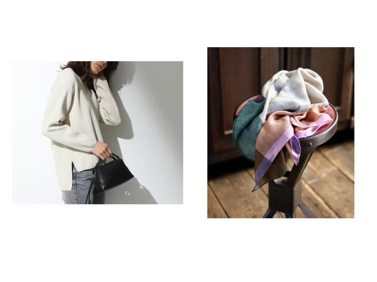 【Demi-Luxe BEAMS/デミルクス ビームス】の2WAY ショルダーバッグ S&【TRUE NAVY/トゥルー ネイビー】のBEGG&カシミヤストール おすすめ!人気トレンド・レディースファッションの通販 おすすめで人気のファッション通販商品 インテリア・家具・キッズファッション・メンズファッション・レディースファッション・服の通販 founy(ファニー) https://founy.com/ ファッション Fashion レディース WOMEN ストール Scarves マフラー Mufflers トレンド 人気 アンゴラ 秋 カシミア カシミヤ シルク スカーフ ストール なめらか バランス マフラー モダン ロング A/W 秋冬 Autumn &  Winter |ID:crp329100000007232