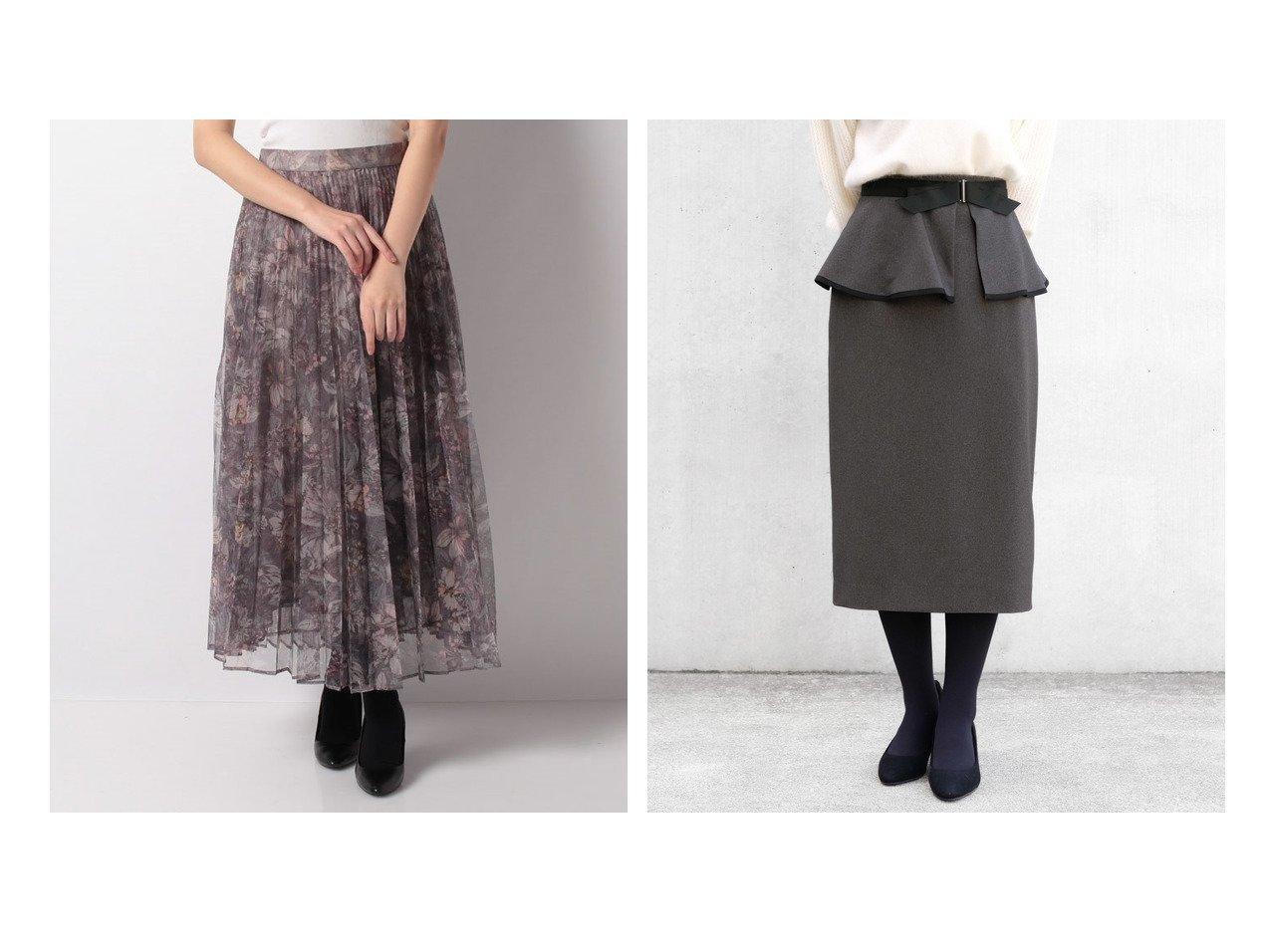 【STRAWBERRY FIELDS/ストロベリーフィールズ】のラナリーサージ スカート&【Mystrada/マイストラーダ】のリーフフラワープリーツスカート スカートのおすすめ!人気トレンド・レディースファッションの通販 おすすめで人気のファッション通販商品 インテリア・家具・キッズファッション・メンズファッション・レディースファッション・服の通販 founy(ファニー) https://founy.com/ ファッション Fashion レディース WOMEN スカート Skirt プリーツスカート Pleated Skirts エアリー エレガント シンプル プリント プリーツ ロマンティック タイトスカート ファブリック フェミニン フリル ペプラム 人気 今季 |ID:crp329100000007256