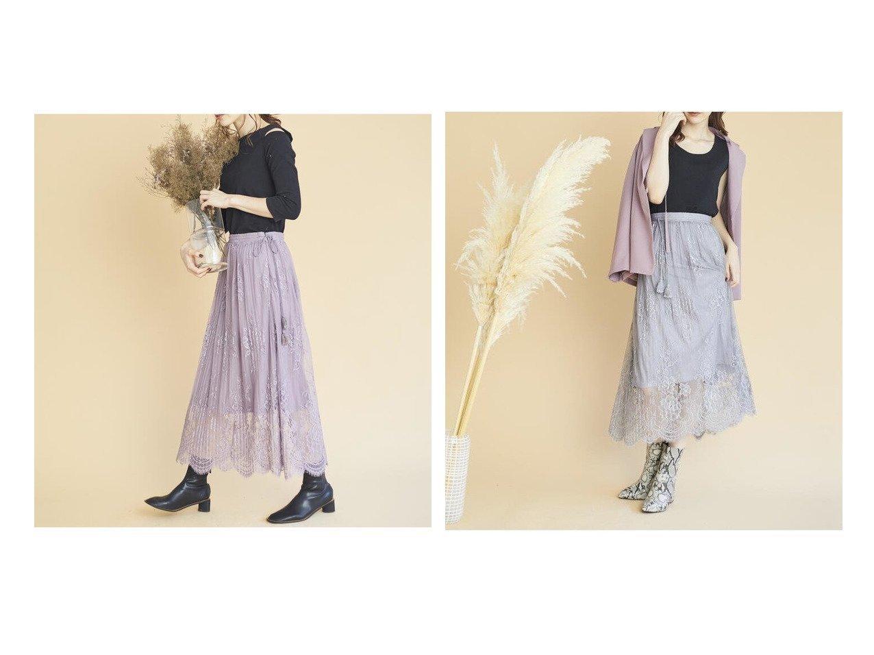 【MISCH MASCH/ミッシュマッシュ】のレースプリーツスカート/MISCH MASCH MAIRY スカートのおすすめ!人気トレンド・レディースファッションの通販 おすすめで人気のファッション通販商品 インテリア・家具・キッズファッション・メンズファッション・レディースファッション・服の通販 founy(ファニー) https://founy.com/ ファッション Fashion レディース WOMEN スカート Skirt Aライン/フレアスカート Flared A-Line Skirts プリーツスカート Pleated Skirts ギャザー フィット フェミニン フラワー フレア モチーフ リアル レース ロング 今季 |ID:crp329100000007260