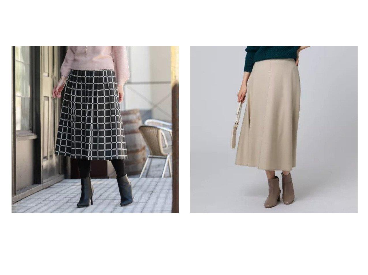 【UNTITLED/アンタイトル】のボニータミルドステッチフレアスカート&【AMACA/アマカ】のブロックブレイドスカート スカートのおすすめ!人気トレンド・レディースファッションの通販 おすすめで人気のファッション通販商品 インテリア・家具・キッズファッション・メンズファッション・レディースファッション・服の通販 founy(ファニー) https://founy.com/ ファッション Fashion レディース WOMEN スカート Skirt Aライン/フレアスカート Flared A-Line Skirts フィット ブロック プリント マキシ ミックス ロング 無地 シンプル ジャージ ポケット |ID:crp329100000007268