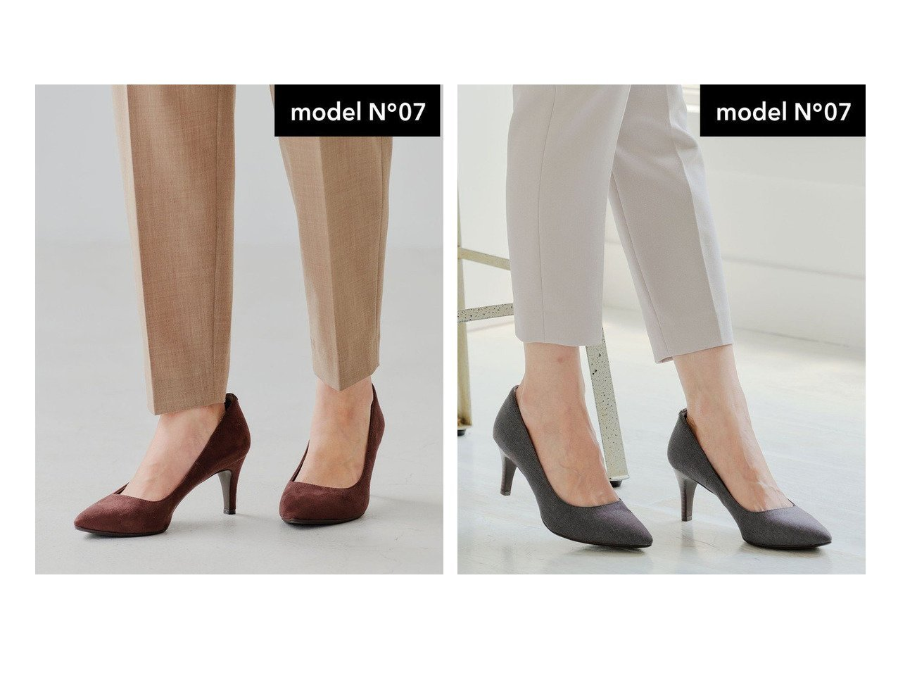 【green label relaxing / UNITED ARROWS/グリーンレーベル リラクシング / ユナイテッドアローズ】のmodel NO.07 D ポインテッド プレーン パンプス(7cmヒール) シューズ・靴のおすすめ!人気トレンド・レディースファッションの通販 おすすめで人気のファッション通販商品 インテリア・家具・キッズファッション・メンズファッション・レディースファッション・服の通販 founy(ファニー) https://founy.com/ ファッション Fashion レディース WOMEN クッション シューズ デニム 定番 ハイヒール フィット フォルム プレーン ポインテッド |ID:crp329100000007271