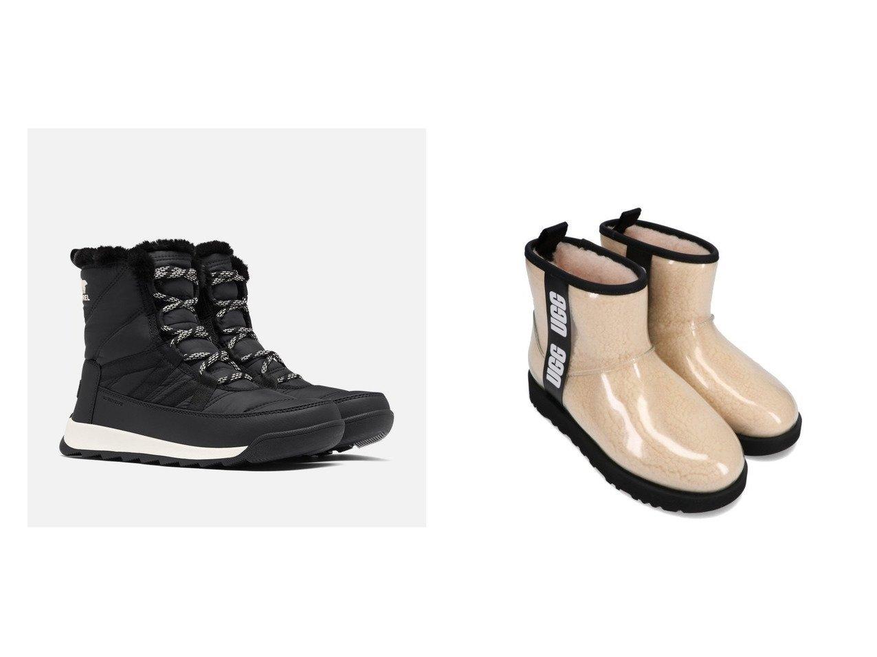 【SOREL/ソレル】のウィットニーIIショートレース&【UGG Australia/アグ】のUGG Classic Clear Mini シューズ・靴のおすすめ!人気トレンド・レディースファッションの通販 おすすめで人気のファッション通販商品 インテリア・家具・キッズファッション・メンズファッション・レディースファッション・服の通販 founy(ファニー) https://founy.com/ ファッション Fashion レディース WOMEN インソール シューズ スニーカー スリッポン ライニング キルティング スエード スタイリッシュ フィット ラバー ロング |ID:crp329100000007272