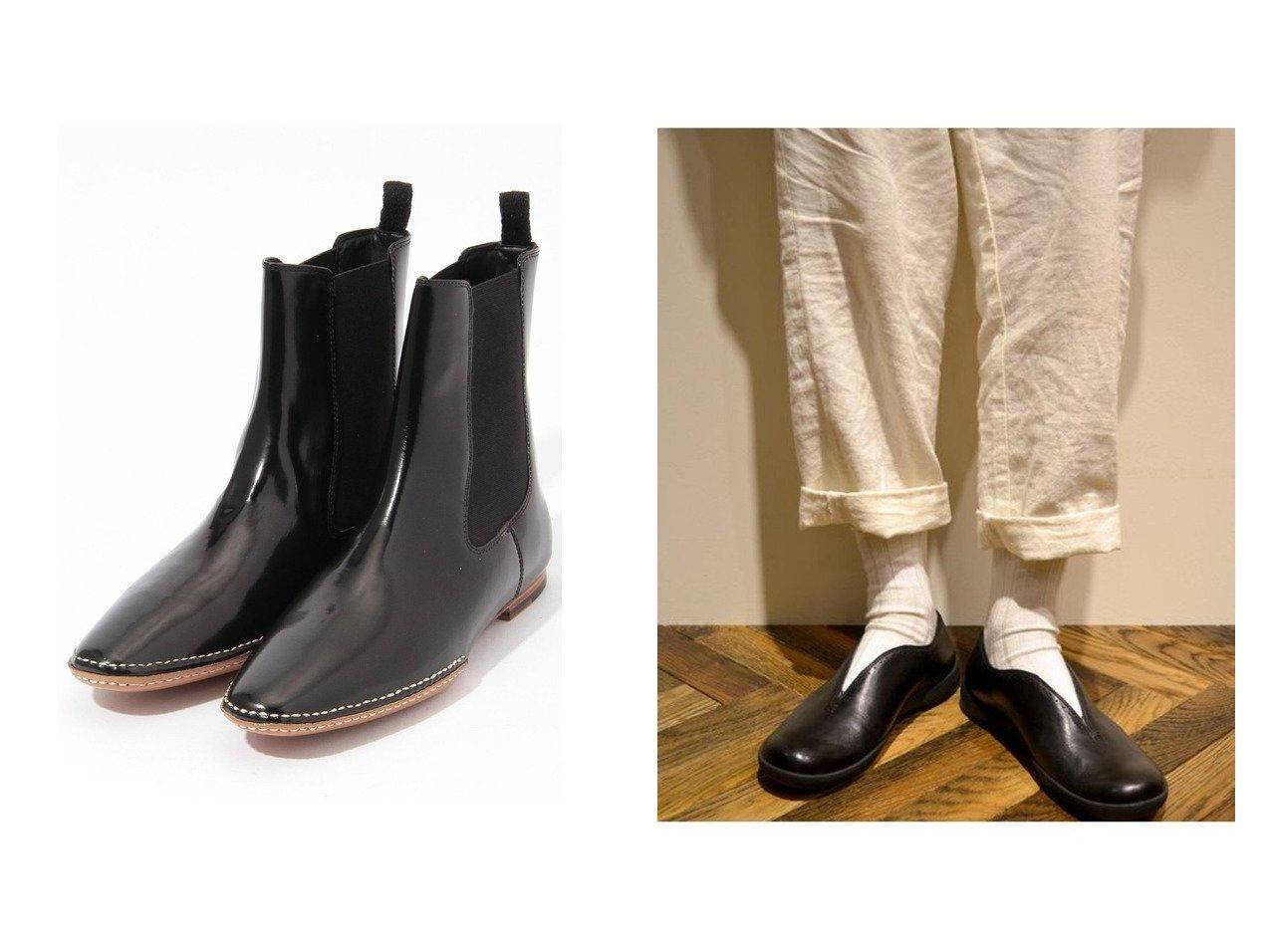 【DES PRES / TOMORROWLAND/デプレ】のDES PRES チェルシーブーツ&【CAMPER/カンペール】の[カンペール] パンプス プレーントゥ フラットヒール 1.9cmヒール シューズ・靴のおすすめ!人気トレンド・レディースファッションの通販 おすすめで人気のファッション通販商品 インテリア・家具・キッズファッション・メンズファッション・レディースファッション・服の通販 founy(ファニー) https://founy.com/ ファッション Fashion レディース WOMEN ガラス シューズ ショート ワーク クッション シンプル フィット フォルム フラット ベーシック 厚底 |ID:crp329100000007278