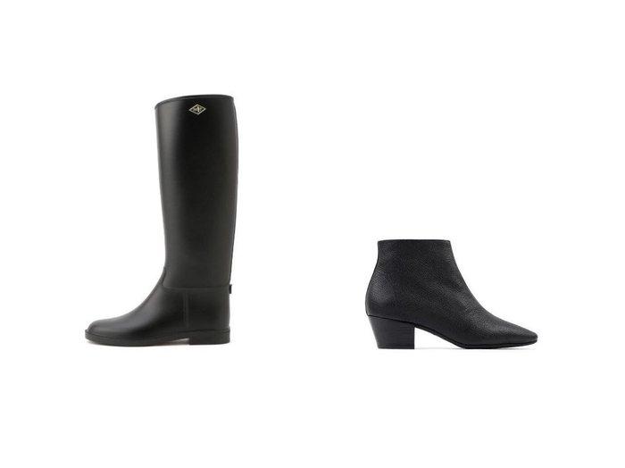 【MACKINTOSH PHILOSOPHY/マッキントッシュ フィロソフィー】のMPレインブーツ&【repetto/レペット】のPiero Boots シューズ・靴のおすすめ!人気トレンド・レディースファッションの通販 おすすめファッション通販アイテム レディースファッション・服の通販 founy(ファニー) ファッション Fashion レディースファッション WOMEN シューズ ショート ジップ ブロック ジャージ ロング 春 |ID:crp329100000007547