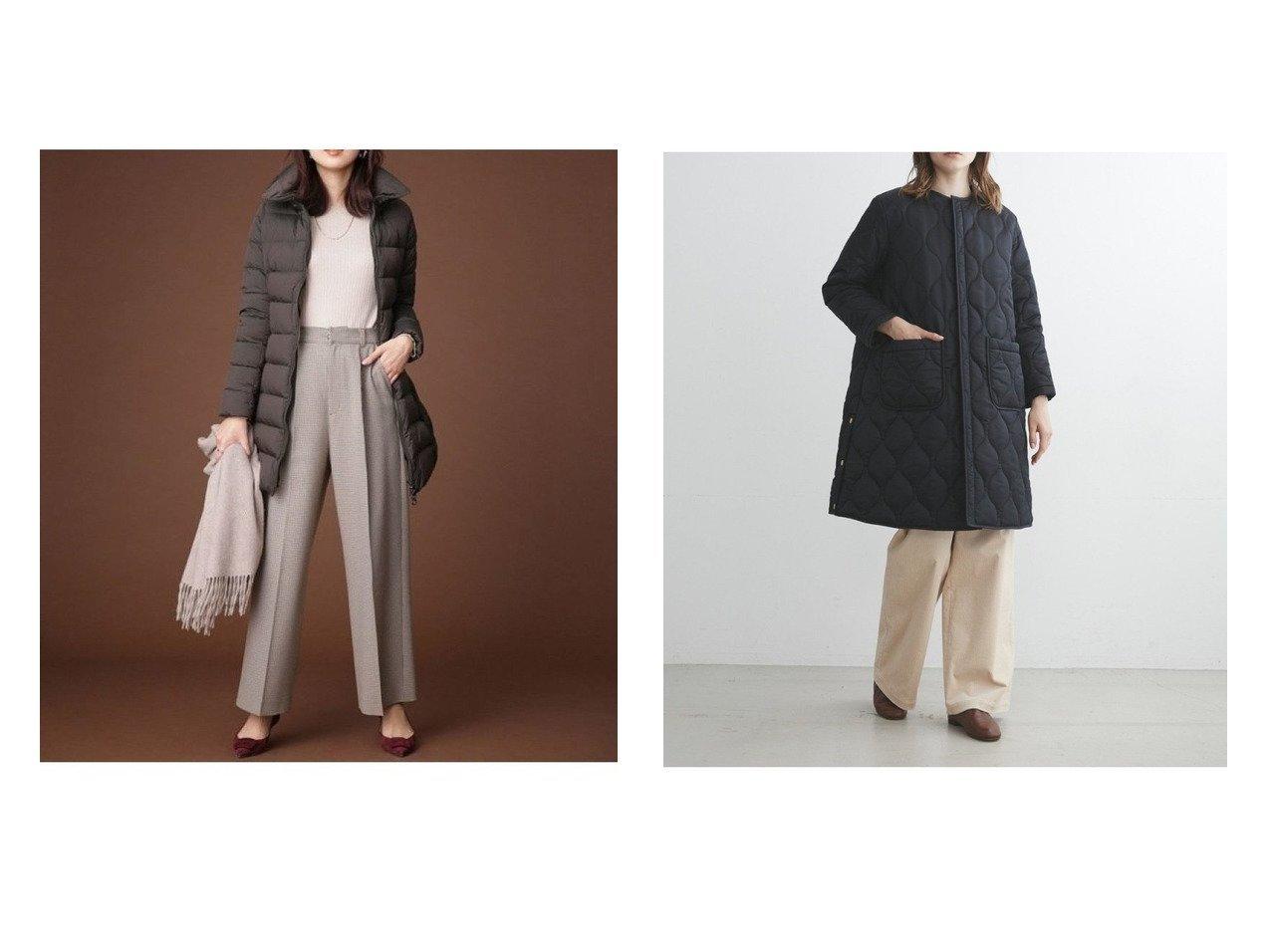 【TWW / Traditional Weatherwear/トラディショナル ウェザーウェア】のARKLEY LONG 2&【TATRAS/タトラス】のPOLITEAMA アウターのおすすめ!人気トレンド・レディースファッションの通販 おすすめで人気のファッション通販商品 インテリア・家具・キッズファッション・メンズファッション・レディースファッション・服の通販 founy(ファニー) https://founy.com/ ファッション Fashion レディースファッション WOMEN アウター Coat Outerwear コート Coats ジャケット Jackets キルティング ジップアップ ジャケット バランス フロント イタリア ダウン ダブル 定番 人気 ベーシック ミラノ ラグジュアリー ワイド A/W 秋冬 Autumn &  Winter  ID:crp329100000007575