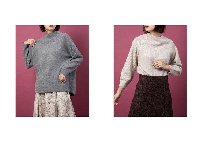 【Mystrada/マイストラーダ】のオフショルニット&バックスリットニット トップス・カットソーのおすすめ!人気トレンド・レディースファッションの通販 おすすめファッション通販アイテム レディースファッション・服の通販 founy(ファニー) ファッション Fashion レディースファッション WOMEN トップス Tops Tshirt ニット Knit Tops クラシック シンプル スリット タートルネック ボトム |ID:crp329100000007658
