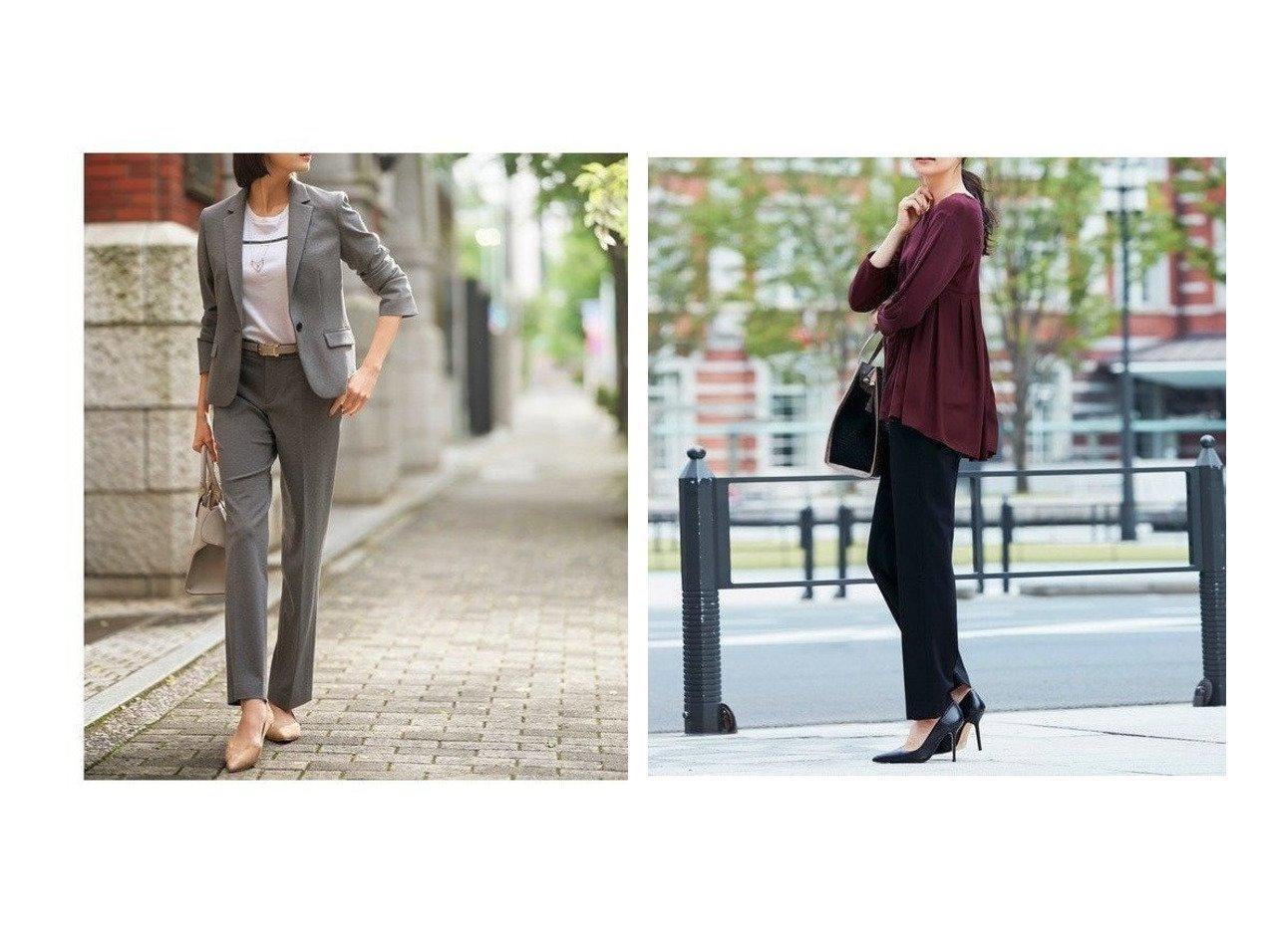 【JIYU-KU/自由区】の【Sサイズ有】360°FREE ウォッシャブル パンツ パンツのおすすめ!人気トレンド・レディースファッションの通販 おすすめで人気のファッション通販商品 インテリア・家具・キッズファッション・メンズファッション・レディースファッション・服の通販 founy(ファニー) https://founy.com/ ファッション Fashion レディースファッション WOMEN パンツ Pants ウォッシャブル ジャケット ジャージー センター 雑誌 定番 人気  ID:crp329100000007733
