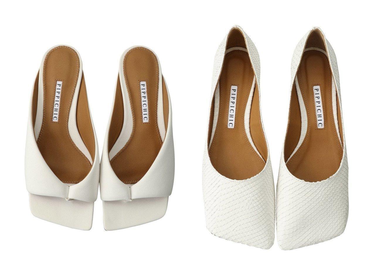 【Pippichic/ピッピシック】のスクエアトゥトングフラットミュール&LINDA パイソン型押しスクエアトゥフラットシューズ シューズ・靴のおすすめ!人気トレンド・レディースファッションの通販 おすすめで人気のファッション通販商品 インテリア・家具・キッズファッション・メンズファッション・レディースファッション・服の通販 founy(ファニー) https://founy.com/ ファッション Fashion レディースファッション WOMEN サンダル フラット ボトム マキシ リゾート ワイド なめらか シューズ シンプル パイソン パーティ |ID:crp329100000007766