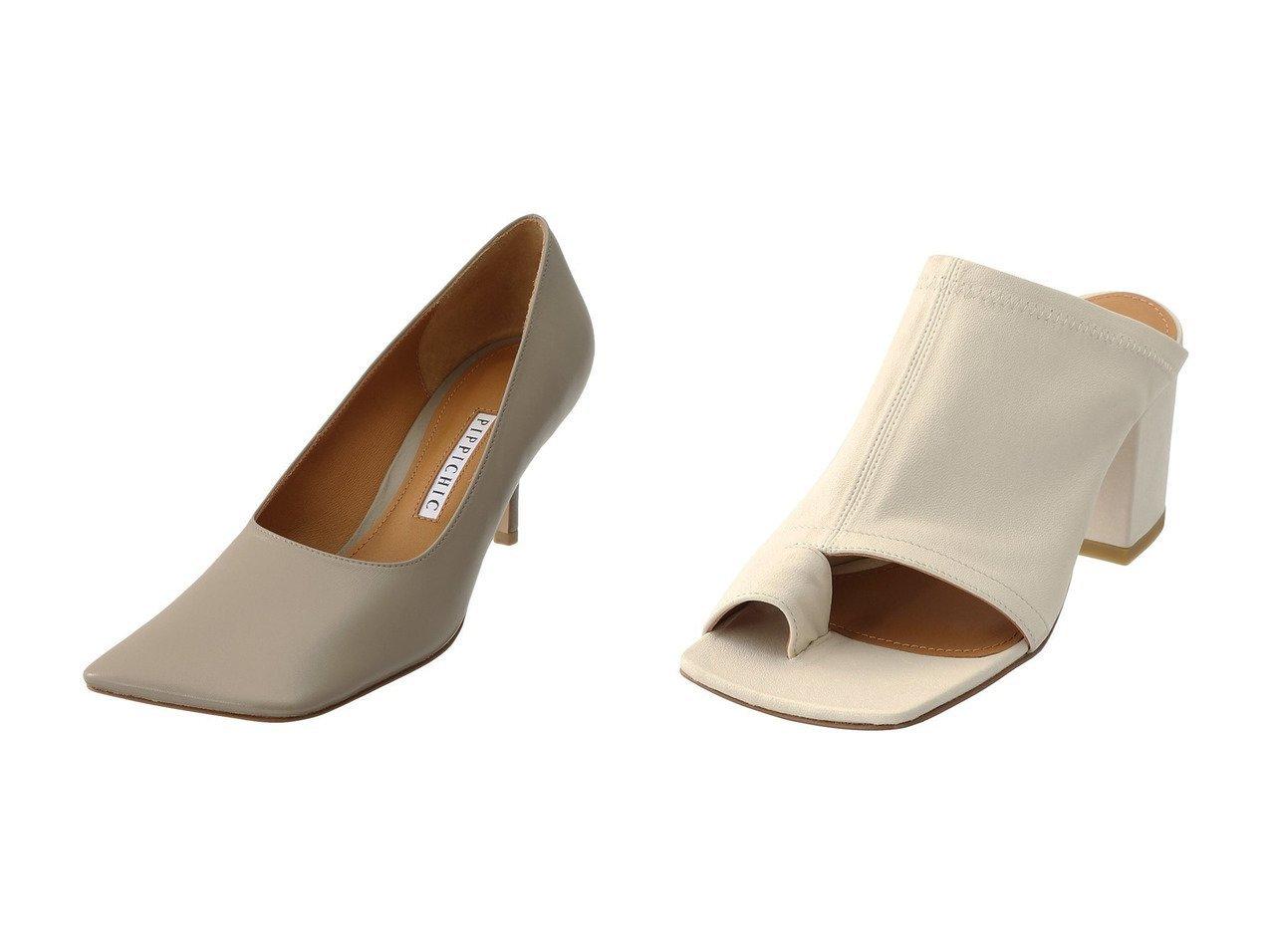 【Pippichic/ピッピシック】のLINDA スクエアトゥパンプス&スクエアトゥトングストレッチミュール シューズ・靴のおすすめ!人気トレンド・レディースファッションの通販 おすすめで人気のファッション通販商品 インテリア・家具・キッズファッション・メンズファッション・レディースファッション・服の通販 founy(ファニー) https://founy.com/ ファッション Fashion レディースファッション WOMEN なめらか オケージョン サンダル ストレッチ |ID:crp329100000007768