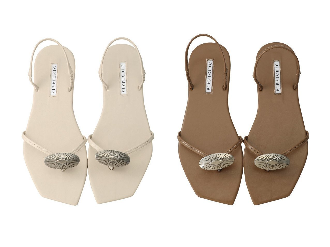 【Pippichic/ピッピシック】のコンチョ付きトングフラットサンダル シューズ・靴のおすすめ!人気トレンド・レディースファッションの通販 おすすめで人気のファッション通販商品 インテリア・家具・キッズファッション・メンズファッション・レディースファッション・服の通販 founy(ファニー) https://founy.com/ ファッション Fashion レディースファッション WOMEN サンダル フラット ラップ |ID:crp329100000007770