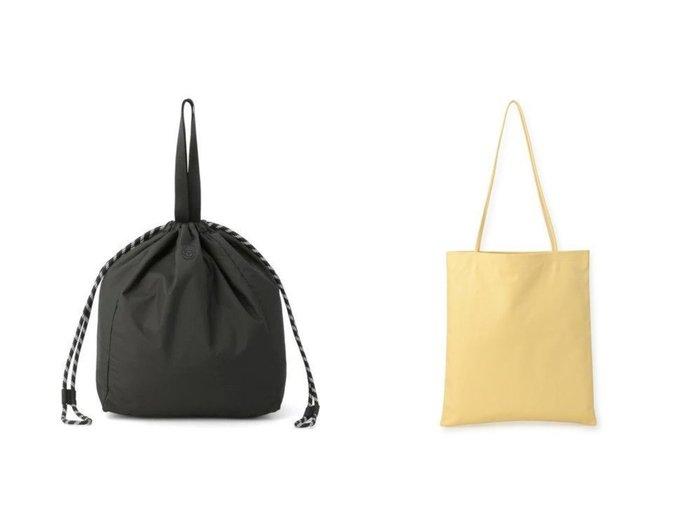 【MODERN WEAVING/モダン ウィーヴィング】のMW198 SLIM LAMB SAC(トートバッグ)&【GANNI/ガニー】のRecycled Tech Fabric Bag バッグのおすすめ!人気トレンド・レディースファッションの通販 おすすめファッション通販アイテム レディースファッション・服の通販 founy(ファニー) ファッション Fashion レディースファッション WOMEN バッグ Bag ハンドバッグ バケツ モノトーン 巾着 |ID:crp329100000007776