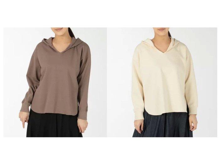 【Munich/ミューニック】のlight double knit skipper hoodie トップス・カットソーのおすすめ!人気トレンド・レディースファッションの通販 おすすめファッション通販アイテム レディースファッション・服の通販 founy(ファニー) ファッション Fashion レディースファッション WOMEN トップス Tops Tshirt ニット Knit Tops スウェット セーター パーカー 冬 Winter |ID:crp329100000008118