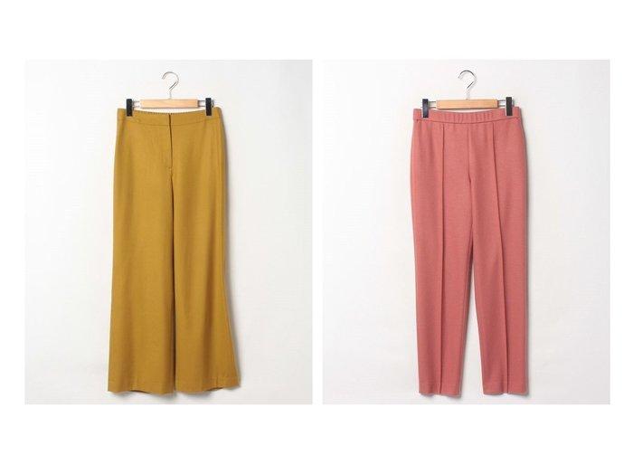 【Theory Luxe/セオリーリュクス】のSAXONY SOFT SEFIN N&パンツ STAGE TINKA2 パンツのおすすめ!人気トレンド・レディースファッションの通販 おすすめファッション通販アイテム レディースファッション・服の通販 founy(ファニー) ファッション Fashion レディースファッション WOMEN パンツ Pants シンプル ストレート ドレープ ファブリック フィット フラット フロント |ID:crp329100000008266