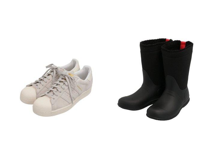 【adidas Originals/アディダス オリジナルス】のスーパースター EDIFICE [SUPERSTAR EDIFICE] アディダスオリジナルス&【HUNTER/ハンター】の【レディース】オリジナル ロールトップシェルパブーツ シューズ・靴のおすすめ!人気トレンド・レディースファッションの通販 おすすめファッション通販アイテム レディースファッション・服の通販 founy(ファニー) ファッション Fashion レディースファッション WOMEN シューズ スニーカー スリッポン 今季 ロング 冬 Winter |ID:crp329100000008299
