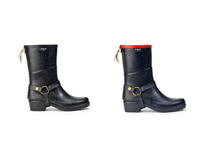 【AIGLE/エーグル】のレディースミスジュリーラバーブーツ シューズ・靴のおすすめ!人気トレンド・レディースファッションの通販 おすすめファッション通販アイテム レディースファッション・服の通販 founy(ファニー) ファッション Fashion レディースファッション WOMEN クッション シューズ ラバー |ID:crp329100000008300