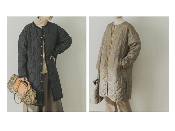 【URBAN RESEARCH/アーバンリサーチ】のキルティングAラインコート アウターのおすすめ!人気トレンド・レディースファッションの通販 おすすめファッション通販アイテム インテリア・キッズ・メンズ・レディースファッション・服の通販 founy(ファニー) https://founy.com/ ファッション Fashion レディースファッション WOMEN アウター Coat Outerwear コート Coats ジャケット Jackets ノーカラージャケット No Collar Leather Jackets Aラインコート A-Line Coats インナー キルティング ショルダー ショート ジャケット スニーカー スヌード タートルネック ダウン デニム トレンド ドット ドロップ フェザー フラット フレア ポケット マフラー ロング |ID:crp329100000008334