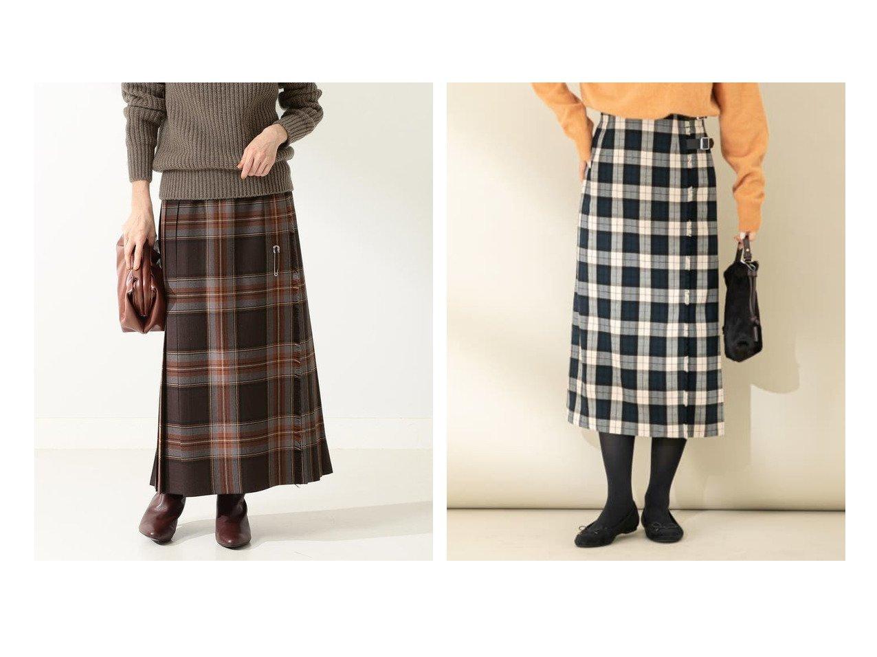 【Demi-Luxe BEAMS/デミルクス ビームス】のMOYNALTY ロング キルトスカート&【Sonny Label / URBAN RESEARCH/サニーレーベル】のチェックキルトスカート スカートのおすすめ!人気トレンド・レディースファッションの通販 おすすめで人気の流行・トレンド、ファッションの通販商品 メンズファッション・キッズファッション・インテリア・家具・レディースファッション・服の通販 founy(ファニー) https://founy.com/ ファッション Fashion レディースファッション WOMEN スカート Skirt チェック バランス キルト フロント モダン ロング 人気 定番  ID:crp329100000008529