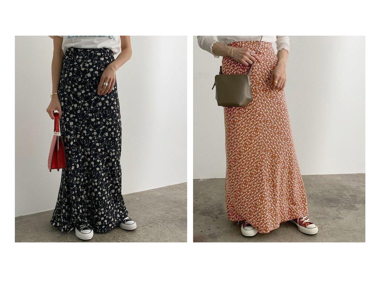 【ROPE' mademoiselle/ロペ マドモアゼル】のヴィンテージライクフラワーマーメイドスカート スカートのおすすめ!人気トレンド・レディースファッションの通販 おすすめで人気の流行・トレンド、ファッションの通販商品 メンズファッション・キッズファッション・インテリア・家具・レディースファッション・服の通販 founy(ファニー) https://founy.com/ ファッション Fashion レディースファッション WOMEN スカート Skirt シューズ スニーカー フェミニン プリント ポケット マキシ マーメイド  ID:crp329100000008534