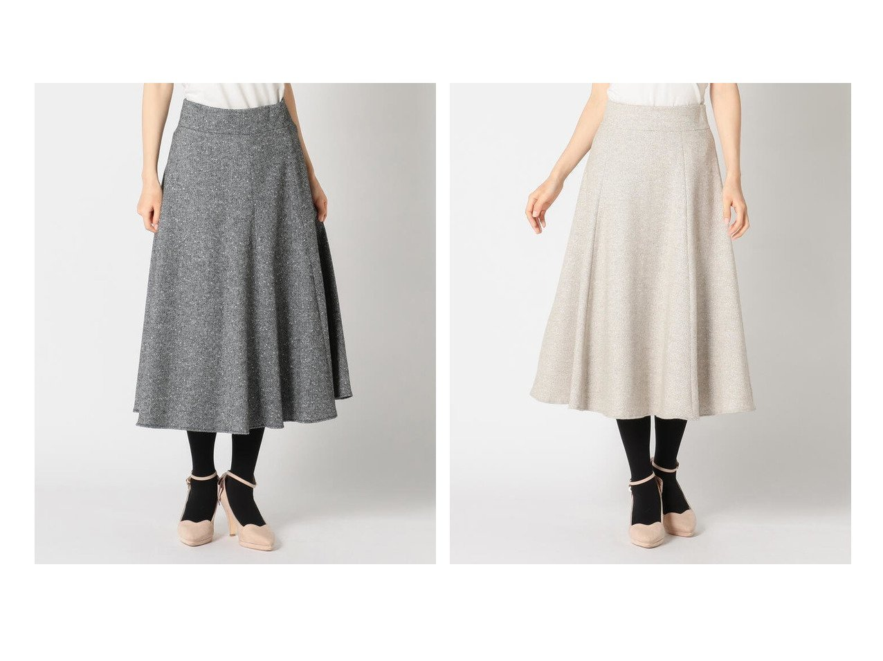 【MISCH MASCH/ミッシュマッシュ】のツイードフレアースカート スカートのおすすめ!人気トレンド・レディースファッションの通販 おすすめで人気の流行・トレンド、ファッションの通販商品 メンズファッション・キッズファッション・インテリア・家具・レディースファッション・服の通販 founy(ファニー) https://founy.com/ ファッション Fashion レディースファッション WOMEN スカート Skirt Aライン/フレアスカート Flared A-Line Skirts ギャザー ショート ツイード フレア ロング  ID:crp329100000008535
