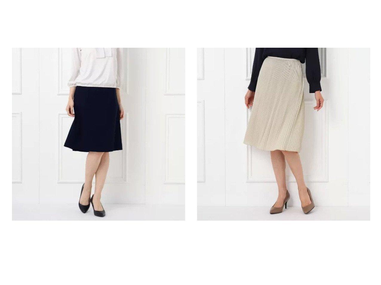 【UNTITLED/アンタイトル】の【抗菌防臭】トリアセアーバンストレッチフレアスカート&ラフィネジョーゼットプリーツスカート スカートのおすすめ!人気トレンド・レディースファッションの通販 おすすめで人気の流行・トレンド、ファッションの通販商品 メンズファッション・キッズファッション・インテリア・家具・レディースファッション・服の通販 founy(ファニー) https://founy.com/ ファッション Fashion レディースファッション WOMEN スカート Skirt Aライン/フレアスカート Flared A-Line Skirts プリーツスカート Pleated Skirts ジャケット ストレッチ スリット フォーマル フレア ポケット 抗菌 ジョーゼット プリーツ  ID:crp329100000008539