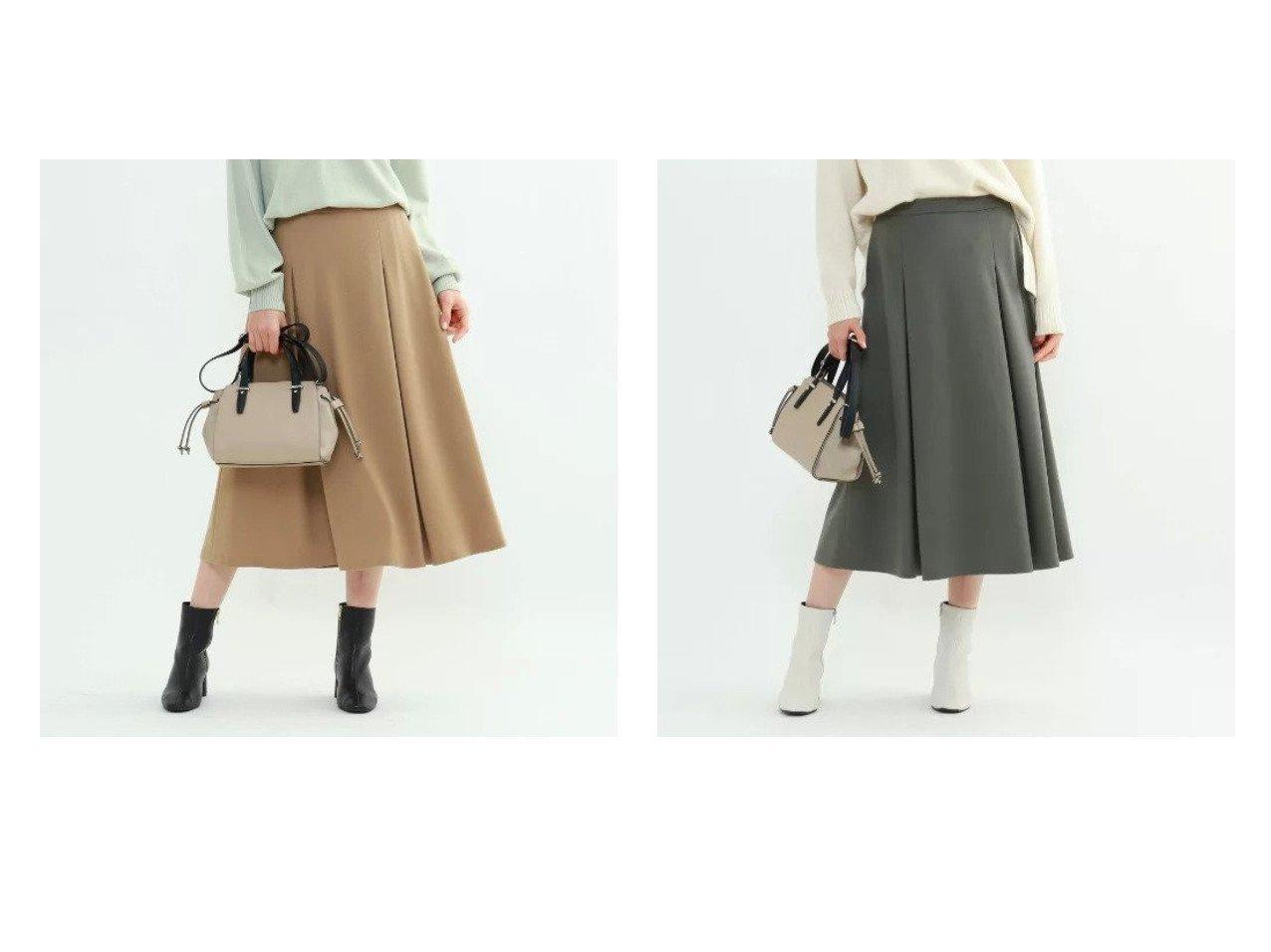 【INDIVI/インディヴィ】のジェームスミルドジャージスカート スカートのおすすめ!人気トレンド・レディースファッションの通販 おすすめで人気の流行・トレンド、ファッションの通販商品 メンズファッション・キッズファッション・インテリア・家具・レディースファッション・服の通販 founy(ファニー) https://founy.com/ ファッション Fashion レディースファッション WOMEN スカート Skirt インナー フレア ポケット A/W 秋冬 Autumn &  Winter  ID:crp329100000008540