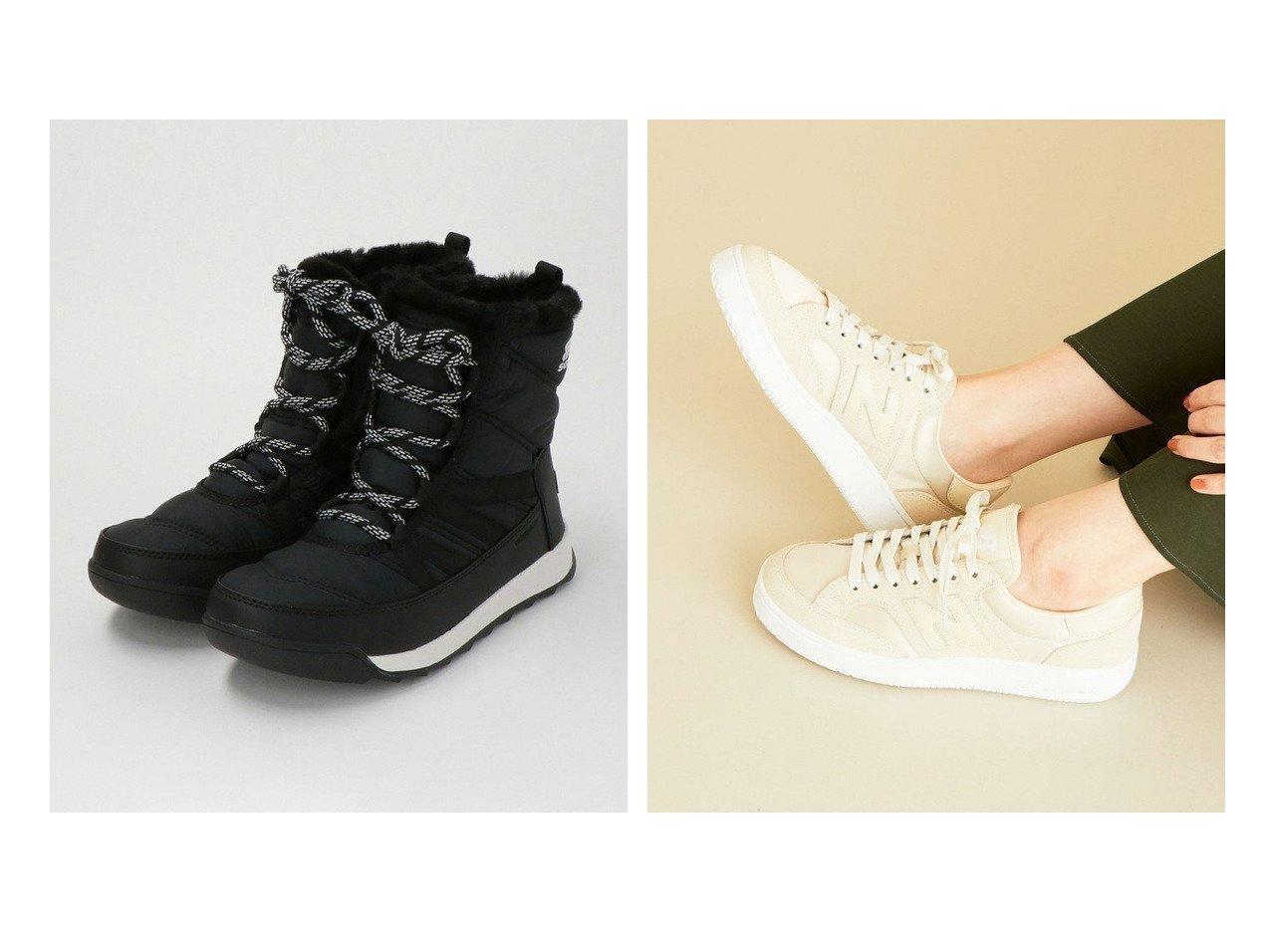 【BEAUTY&YOUTH UNITED ARROWS/ビューティアンド ユースユナイテッドアローズ】の【国内exclusive】スニーカー&WHITNEY2 ショートレースアップブーツ シューズ・靴のおすすめ!人気トレンド・レディースファッションの通販 おすすめで人気の流行・トレンド、ファッションの通販商品 メンズファッション・キッズファッション・インテリア・家具・レディースファッション・服の通販 founy(ファニー) https://founy.com/ ファッション Fashion レディースファッション WOMEN コンビ シューズ シンプル スエード スニーカー バランス フォルム ベーシック ボストン メッシュ アウトドア 軽量 スタンダード 人気 フェミニン |ID:crp329100000008548