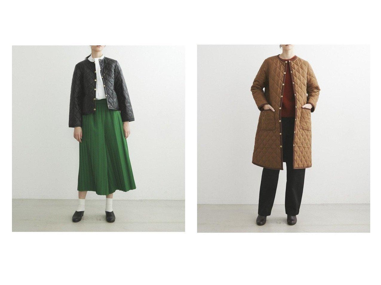 【TWW / Traditional Weatherwear/トラディショナル ウェザーウェア】のARKLEY&ARKLEY LONG アウターのおすすめ!人気トレンド・レディースファッションの通販 おすすめで人気の流行・トレンド、ファッションの通販商品 メンズファッション・キッズファッション・インテリア・家具・レディースファッション・服の通販 founy(ファニー) https://founy.com/ ファッション Fashion レディースファッション WOMEN アウター Coat Outerwear コート Coats ジャケット Jackets インナー キルティング コンパクト ジャケット ストレッチ ストール ドット パイピング フォルム マフラー リアル リュクス ロング 定番 テーパード 軽量 |ID:crp329100000008583