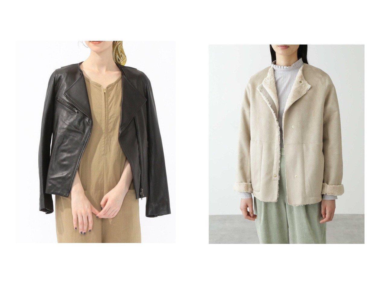 【SHIPS/シップス フォー ウィメン】のライダースジャケット&【HUMAN WOMAN/ヒューマンウーマン】のフェイクムートンブルゾンコート アウターのおすすめ!人気トレンド・レディースファッションの通販 おすすめで人気の流行・トレンド、ファッションの通販商品 メンズファッション・キッズファッション・インテリア・家具・レディースファッション・服の通販 founy(ファニー) https://founy.com/ ファッション Fashion レディースファッション WOMEN アウター Coat Outerwear コート Coats ジャケット Jackets ライダース Riders Jacket ブルゾン Blouson Jackets ジャケット ライダースジャケット 定番 ショート ドット フェイクムートン フロント ブルゾン |ID:crp329100000008587
