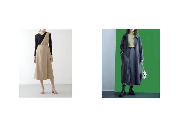 【BOSCH/ボッシュ】のワンショルダーラップワンピース&【Mila Owen/ミラオーウェン】の接結シャギーリーンシルエットコート おすすめ!人気、トレンド・レディースファッションの通販  おすすめ人気トレンドファッション通販アイテム 人気、トレンドファッション・服の通販 founy(ファニー)  ファッション Fashion レディースファッション WOMEN アウター Coat Outerwear コート Coats ワンピース Dress スタイリッシュ スマート トレンド ポケット 冬 Winter インナー ショルダー シンプル スタンダード ラップ  ID:crp329100000008755