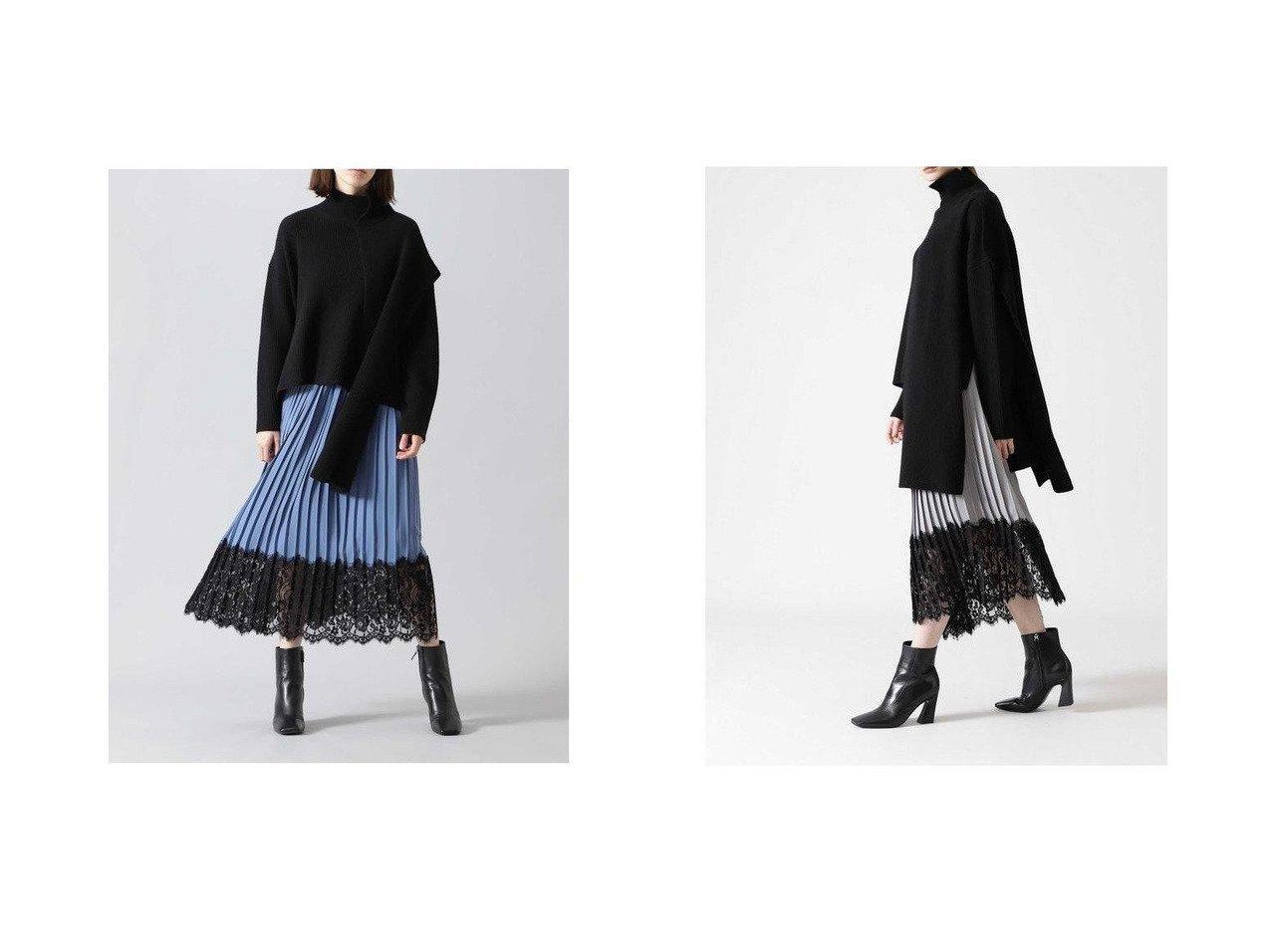 【ADORE/アドーア】のレーシーヘムプリーツスカート スカートのおすすめ!人気トレンド・レディースファッションの通販 おすすめで人気の流行・トレンド、ファッションの通販商品 メンズファッション・キッズファッション・インテリア・家具・レディースファッション・服の通販 founy(ファニー) https://founy.com/ ファッション Fashion レディースファッション WOMEN スカート Skirt プリーツスカート Pleated Skirts エアリー カシミア フェミニン プリーツ ペチコート レース A/W 秋冬 Autumn &  Winter |ID:crp329100000008772