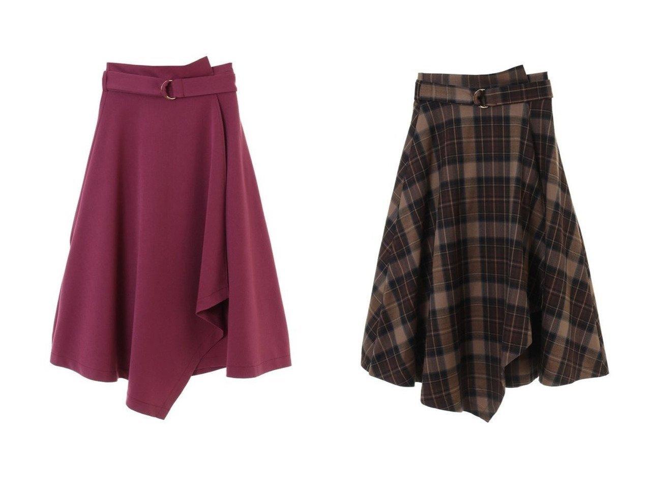 【31 Sons de mode/トランテアン ソン ドゥ モード】のアシメフレアスカート スカートのおすすめ!人気トレンド・レディースファッションの通販 おすすめで人気の流行・トレンド、ファッションの通販商品 メンズファッション・キッズファッション・インテリア・家具・レディースファッション・服の通販 founy(ファニー) https://founy.com/ ファッション Fashion レディースファッション WOMEN スカート Skirt Aライン/フレアスカート Flared A-Line Skirts 冬 Winter フレア |ID:crp329100000008774