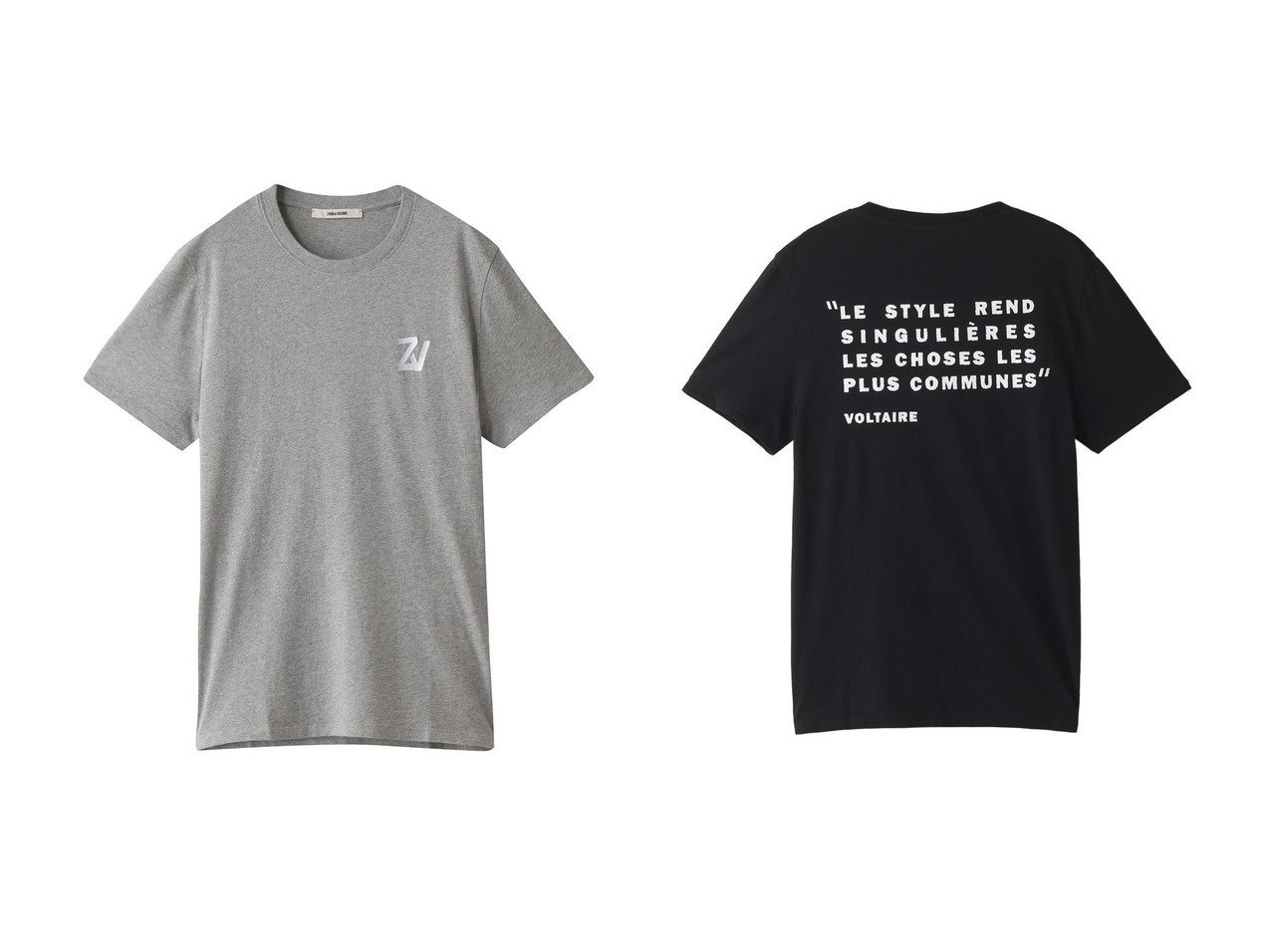 【ZADIG & VOLTAIRE / MEN/ザディグ エ ヴォルテール】の【MEN】TED HC PHOTOPRINT TEE-SHIRT CAPSULE SHOW バックプリントTシャツ&【MEN】TED HC CITATION TEE-SHIRT ARTWORK PHRASE DOS Tシャツ 【MEN】男性のおすすめ!人気トレンド・メンズファッションの通販 おすすめで人気の流行・トレンド、ファッションの通販商品 メンズファッション・キッズファッション・インテリア・家具・レディースファッション・服の通販 founy(ファニー) https://founy.com/ ファッション Fashion メンズファッション MEN トップス Tops Tshirt Men シャツ Shirts ショート スリーブ プリント シンプル フロント |ID:crp329100000008909