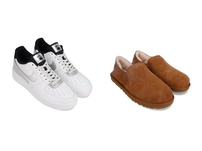 【UGG Australia / MEN/アグ】のUGG Kenton&【NIKE / MEN/ナイキ】のNIKE AIR FORCE 1 07 LV8 3M 【MEN】男性のおすすめ!人気トレンド・メンズファッションの通販 おすすめファッション通販アイテム レディースファッション・服の通販 founy(ファニー) ファッション Fashion メンズファッション MEN シューズ・靴 Shoes Men スニーカー Sneakers シューズ スタイリッシュ スニーカー スリッポン 人気 冬 Winter スエード ライニング リラックス |ID:crp329100000008930