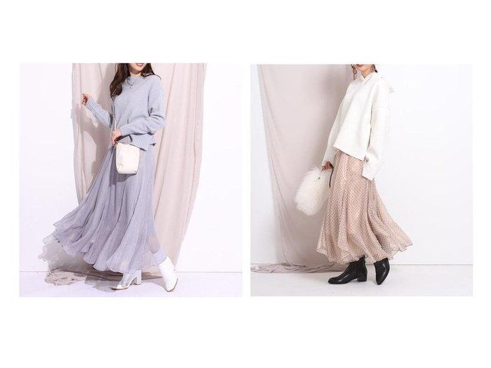 【Rirandture/リランドチュール】のハクラメスカート スカートのおすすめ!人気トレンド・レディースファッションの通販 おすすめファッション通販アイテム レディースファッション・服の通販 founy(ファニー) ファッション Fashion レディースファッション WOMEN スカート Skirt Aライン/フレアスカート Flared A-Line Skirts ギャザー フレア プリント ロマンティック ロング |ID:crp329100000008976
